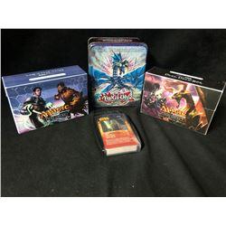 POKEMON/YUGO OH AMD MAGIC TRADING CARDS LOT