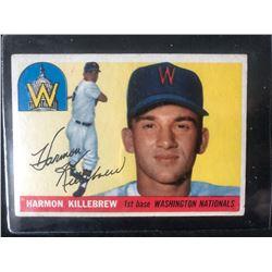 1955 Topps 124 Harmon Killebrew RC