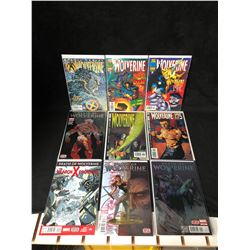 WOLVERINE/ DEATH OF WOLVERINE COMIC BOOK LOT (MARVEL COMICS)