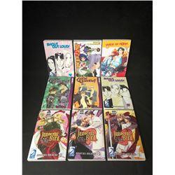 JAPANESE ANIME COMIC BOOK LOT