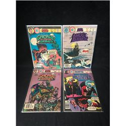 CHARLTON COMICS BOOK LOT (GHOSTS OF DOCTOR GRAVES/ GHOST MANOR...)