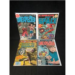 COMIC BOOK LOT (UNEXPECTED/ BEYOND THE GRAVE/ DC SUPERSTARS OF SPACE)