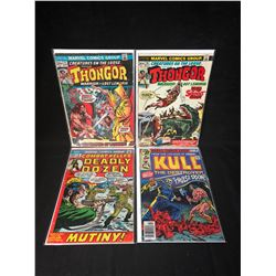 MARVEL COMICS BOOK LOT (THONGOR/ DEADLY DOZEN/ KULL)
