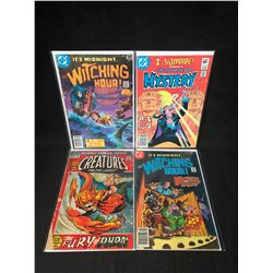 COMIC BOOK LOT (WITCHING HOUR/ HOUSE OF MYSTERY CREATURES ON THE LOOSE)