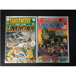 CHALLENGERS OF THE UNKNOWN COMIC BOOK LOT (DC COMICS)