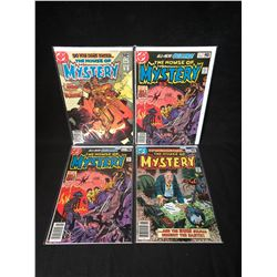 THE HOUSE OF MYSTERY COMIC BOOK LOT (DC COMICS)