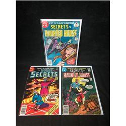 DC COMICS BOOK LOT (SECRETS OF HAUNTED HOUSE/ HOUSE OF SECRETS)