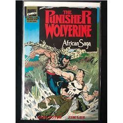 Punisher/Wolverine African Saga (1989 Marvel) #1