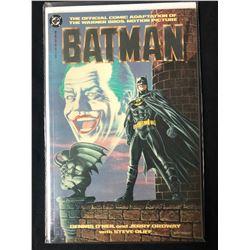 Batman Movie Adaptation Comic WB (DC 1989) Dennis O'Neil/ Jerry Ordway