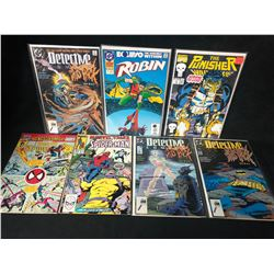COMIC BOOK LOT (ROBIN/ THE PUNISHER/ SPIDER-MAN...)