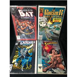 COMIC BOOK LOT (THE PUNISHER/ SUPERMAN...)