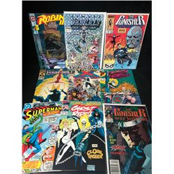 COMIC BOOK LOT (THE PUNISHER/ SUPERMAN/ GHOST RIDER...)
