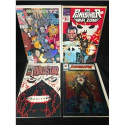 COMIC BOOK LOT (THE PUNISHER/ SILVER SURFER...)
