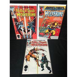 WOLVERINE COMIC BOOK LOT (MARVEL COMICS)