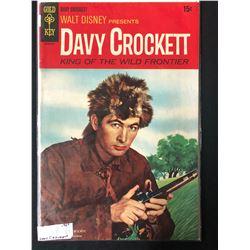 WALT DISNEY PRESENTS DAVY CROCKETT KING OF THE WORLD FRONTIER (GOLD KEY COMICS)