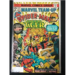 MARVEL TEAM-UP FEATURING SPIDER-MAN AND THE SONS OF THE TIGER #40 (MARVEL COMICS)