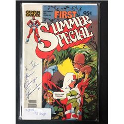 1980 Captain Canuck First Summer Special (1980) Signed By George Freeman