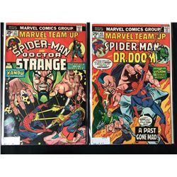 SPIDER-MAN MARVEL TEAM-UP COMIC BOOK LOT (MARVEL COMICS)