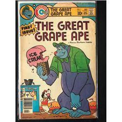 THE GREAT GRAPE APE #1 (CHARLTON COMICS)