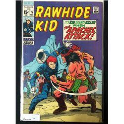 1970 RAWHIDE KID #74 (MARVEL COMICS)