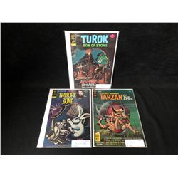 GOLD KEY COMIC BOOK LOT (TUROK/ TWILIGHT ZONE/ TARZAN)
