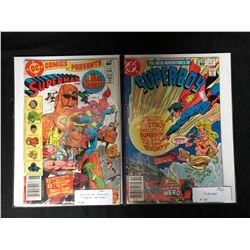 1982 DC COMICS BOOK LOT (SUPERMAN/ SUPERBOY)