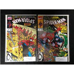 SPIDER-MAN COMIC BOOK LOT #3/ #4  (MARVEL COMICS)