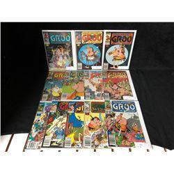 GROO THE WANDERER COMIC BOOK LOT