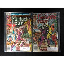 FANTASTIC FOUR/ HULK COMIC BOOK LOT #228/ #307 (MARVEL COMICS)