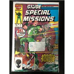 GI Joe Special Missions #1 Marvel Comics 1986