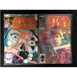 STAR WARS COMIC BOOK LOT #75/ #87