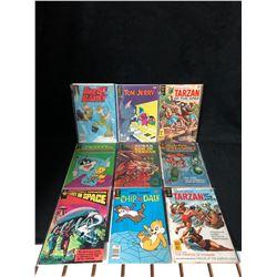 COMIC BOOK LOT (TARZAN/ TOM & JERRY...)