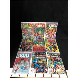 COMIC BOOK LOT (CONAN/ X-MEN/ RED SONJA...)