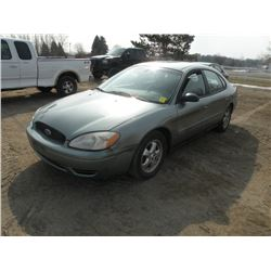 2006 Ford Taurus SE SN#-1FAFP53U76A134014