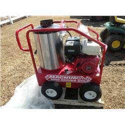 EZ Kleen Magnum Gold 4000 psi hot water pressure washer, 12 volt burner -New