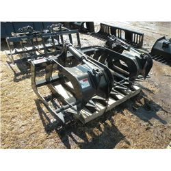 """Stout 72"""" brush grapple w/hose ends-tines 8 1/2"""" on center-New"""