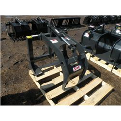 """Stout grapple attachment for pallet forks w/hose ends, fits1 3/8x4"""" forks-New"""
