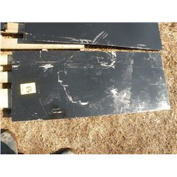 Weldable tool plate for skidloader -New