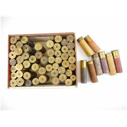 COLLECTION OF OLD SHOTGUN SHELLS