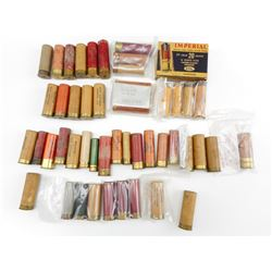 ASSORTED COLLECTIBLE PAPER SHOTSHELLS