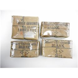BOXER AMMUNITION FOR .577 BORE SNIDER RIFLE, BLANKS