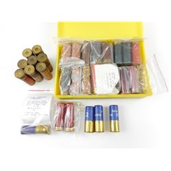 ASSORTED 12 GA, AND 10 GA, COLLECTIBLE PAPER, & PLASTIC SHOTGUN SHELLS