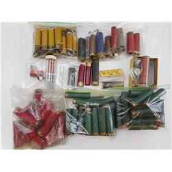 ASSORTED PAPER SHOTGUN SHELLS, PLASTIC SHOTGUN SHELLS, BLANKS