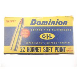 DOMINION 22 HORNET AMMO