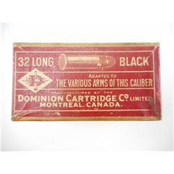 DOMINION 32 LONG BLACK AMMO