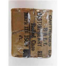 MARTINI-HENRY BALL MARK III 1889 AMMO