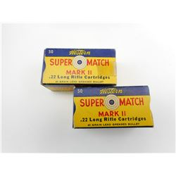 WESTERN SUPER MATCH 22 LONG RIFLE AMMO