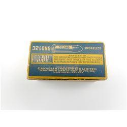 C.I.L. SUPER CLEAN 32 LONG AMMO