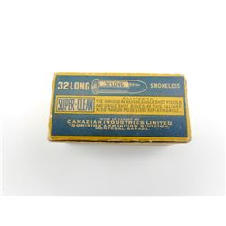 C.I.L. SUPER CLEAN 32 LONG AMMO