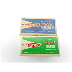GEVELOT 22 LONG RIFLE AMMO